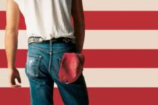 "Bruce Springsteen para su álbum ""Born in the USA"", 1984"
