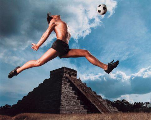 Imágenes promocionales para la Copa de Futbol México 1986