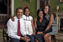 La familia Obama, 2009