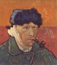 Van Gogh con oreja vendada