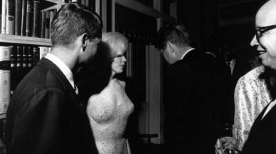 Marilyn Monroe y John F Kennedy
